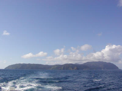 Cocos Island, said to be the location of many hoards of pirate treasure