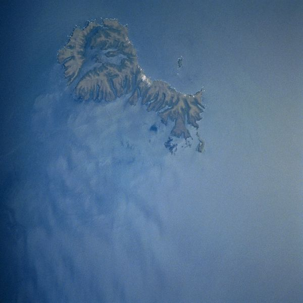 The Auckland Islands from space - Nazi gold